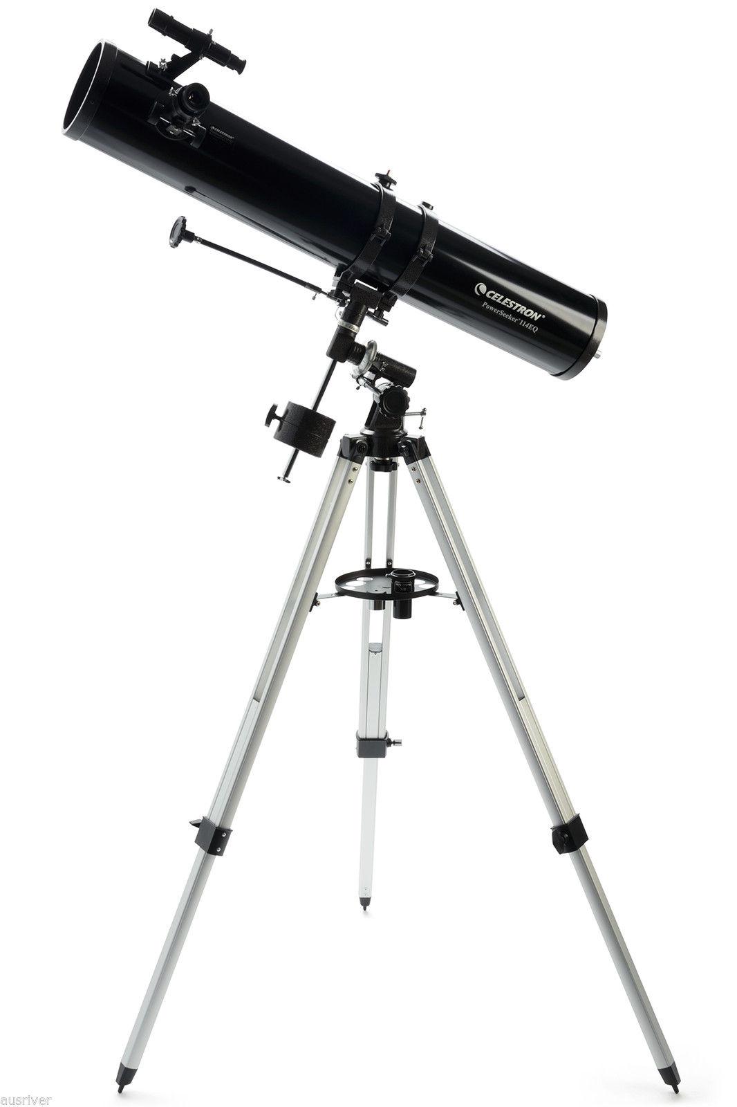 Kính thiên văn phản xạ Celestron Powerseeker 114EQ