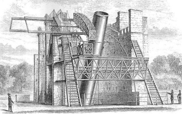 Kính thiên văn phản xạ khổng lồ của nhà thiên văn Ai len William Parsons