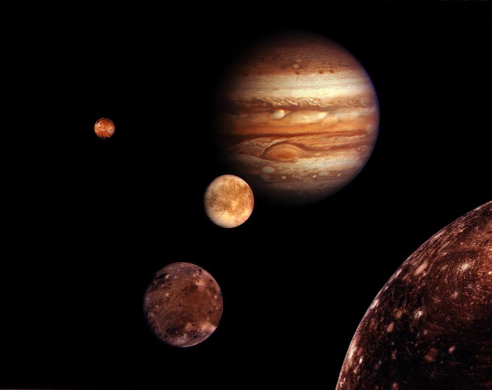 vệ tinh Galilean trên Sao Mộc